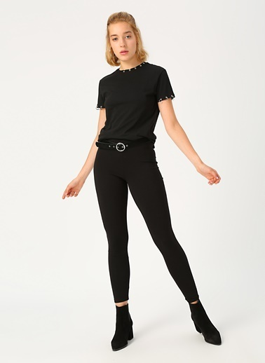 Aeropostale Pantolon Siyah